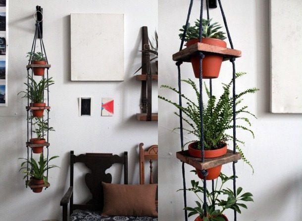 Мини-подвеска для цветов