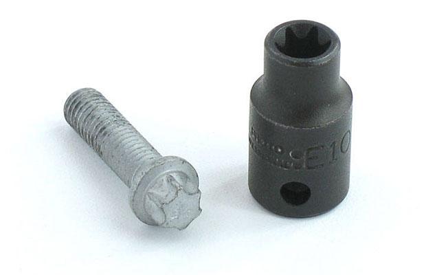 Звездообразные биты чаще всего используются в машиностроении и при производстве бытовой техники
