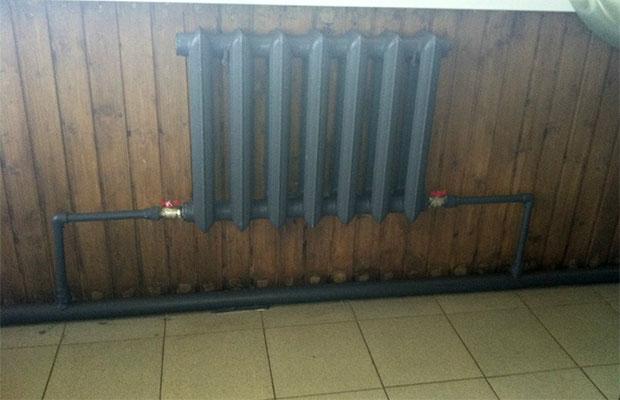 В одноконтурной системе отопления пробка может заблокировать всю циркуляцию