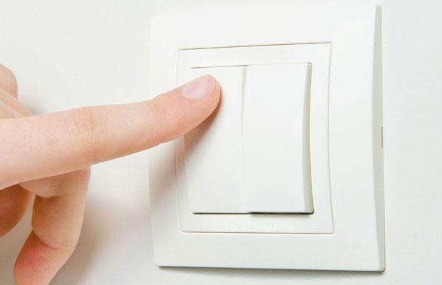 Клавишные диммеры управляются двумя кнопками