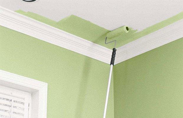 В маленьких комнатах палитру стоит ограничивать, избегая контрастов