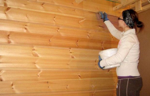 После удаления грибка древесину нужно обработать специальными веществами