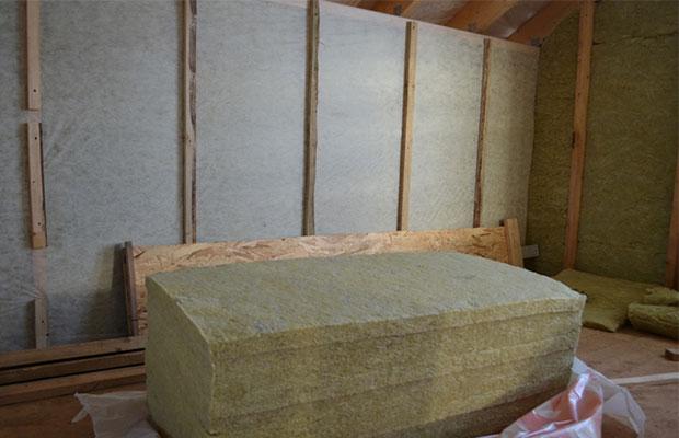 Самый распространенный утеплитель - минеральная вата