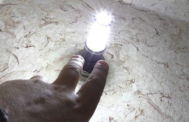 Первым шагом будет проверка всех источников света в доме