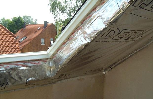 Пароизоляция препятствует оседанию конденсата на элементах крыши
