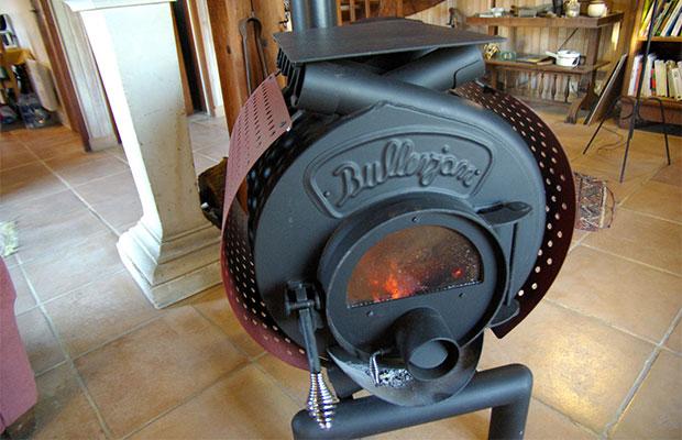 Топливо в печи долгого горения тлеет около 18 часов без добавления