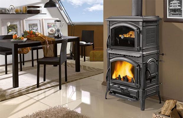 Печь можно использовать в гараже, в бане или в доме