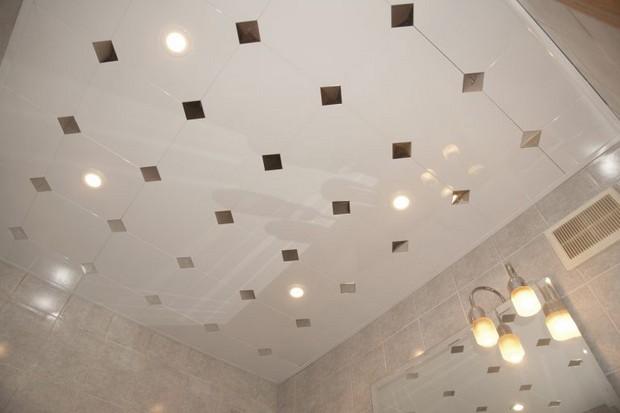 Выбираем панели для потолка