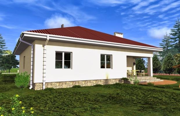 Строительство одноэтажного дома обойдется дешевле всего