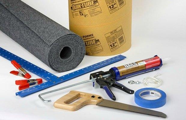 Материалы и инструменты, которые потребуются при создании домика