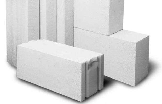 Газосиликатные блоки примечательны небольшой нагрузкой на фундамент