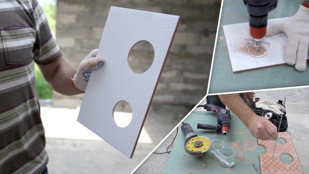 Как просверлить плитку, чтобы не треснула – полезные советы для мастера и новичка