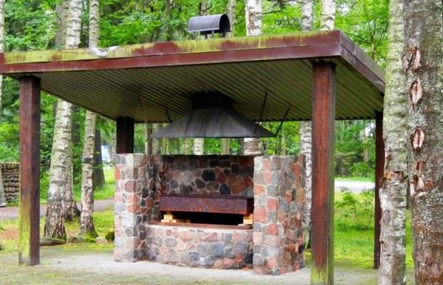 Беседка с мангалом - идеальное место для отдыха на природе