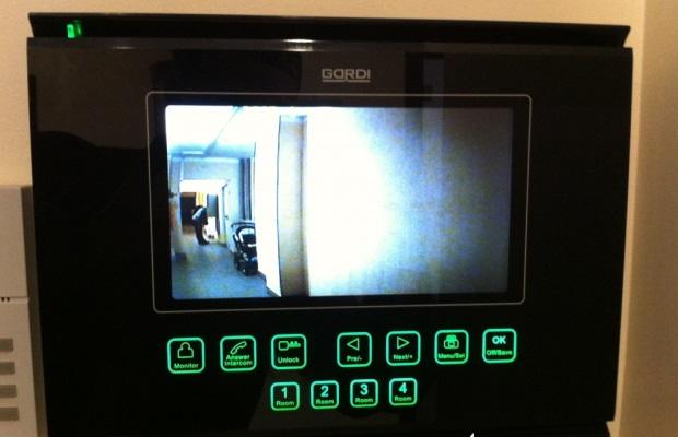 Пример изображения видеодомофона