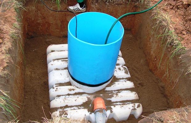 Еврокуб под канализацию
