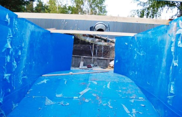 Изготовление чаши пластикового бассейна собственноручно потянет даже новичок