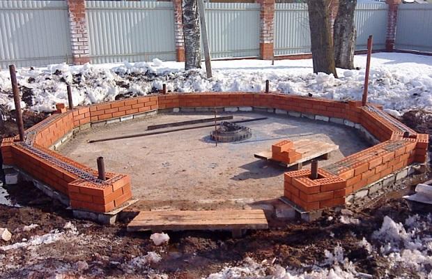 Основа строительства любого фундамента - тщательно подготовленная площадка
