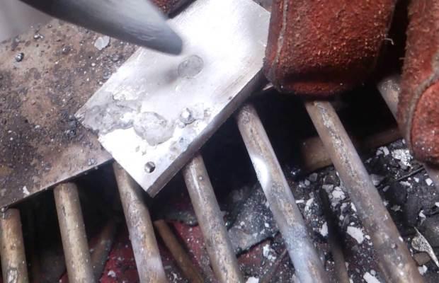 Сварка алюминиевых деталей при помощи электрода