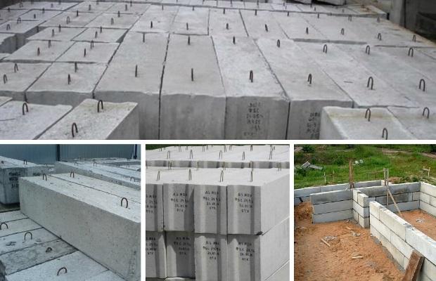Строительство сборных фундаментов