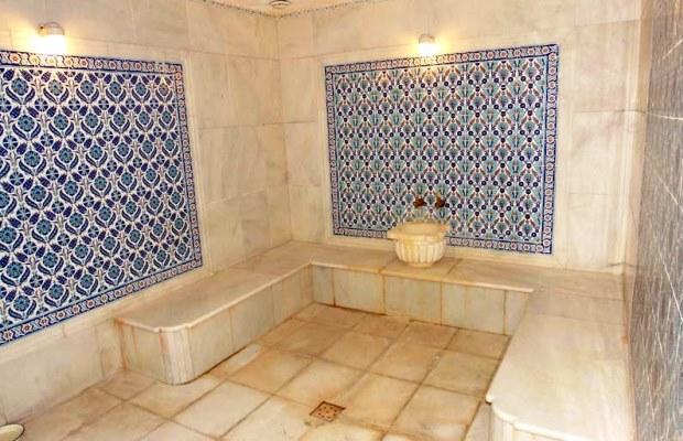 Турецкая сауна внутри покрывается керамической плиткой