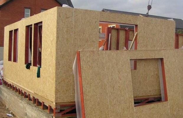 Технология возведения каркасно-щитовых жилых построек