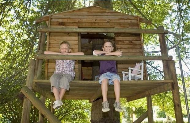 Дом на дереве для детей