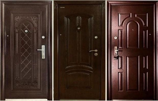 Жестяные входные двери
