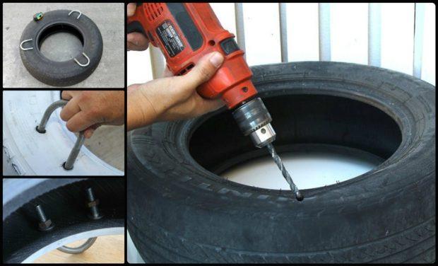 Сверлим шину для креплений
