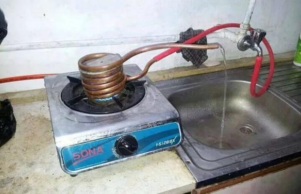 Самодельный водонагреватель своими руками