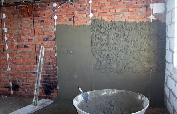 Выравнивание стен штукатурными растворами