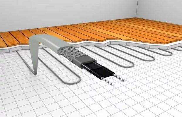 Теплый пол в гараже с водяным нагревом