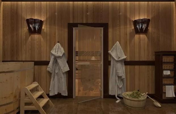 Особенности дизайна и конструкции банных дверей