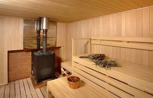 Печь в бане