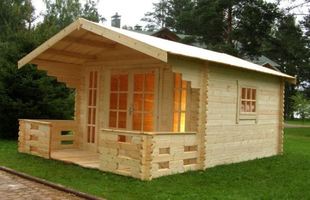 Дом из бруса занимает первое место по экологичности