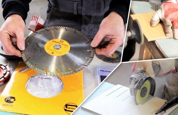 Алмазные диски для болгарки следует выбирать хотя бы средние по цене и качеству