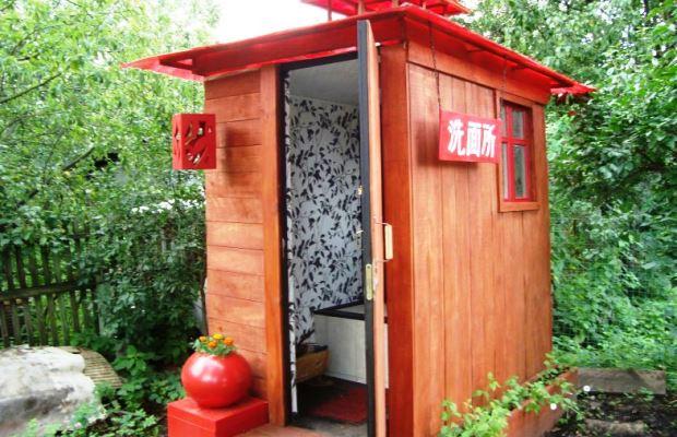 Туалетная будка в японском стиле - красота!