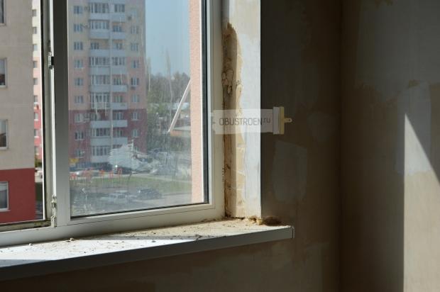 Начинаем демонтаж окна