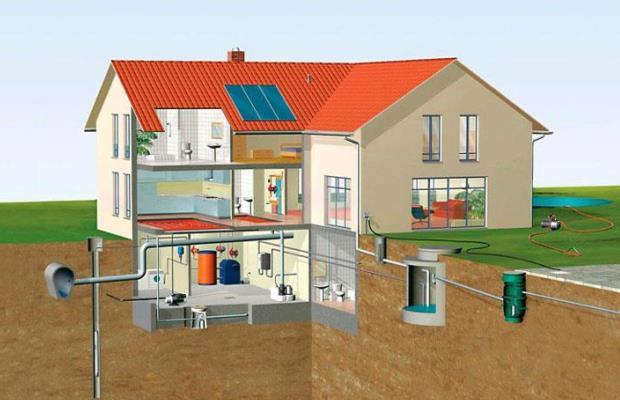 Сначала рисуем простую схему основной постройки и хозяйственных сооружений, делаем наброски желаемых стилевых и пространственных решений