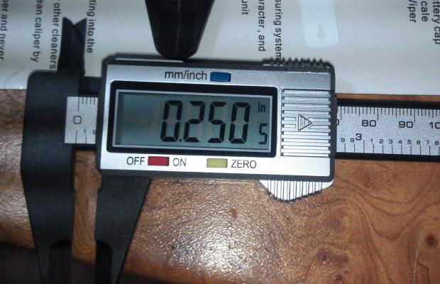 Современный электронный штангенциркуль позволяет обеспечить максимальную точность измерений