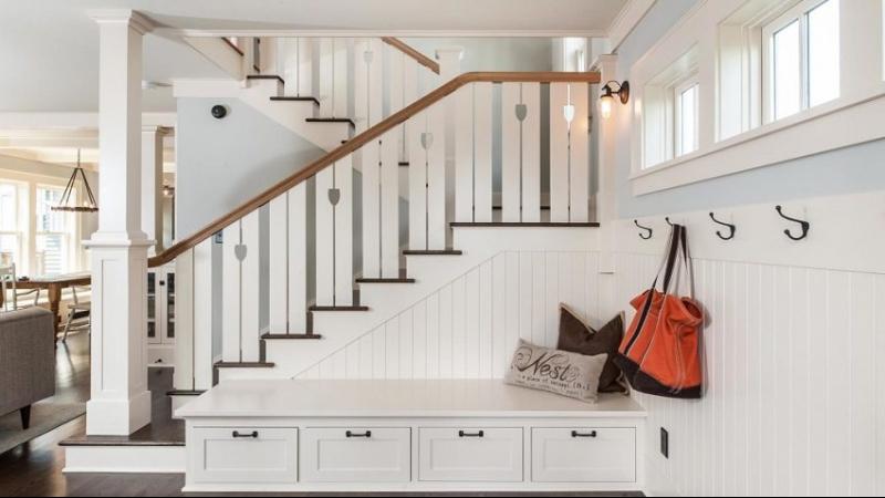 Поворотная лестница своими руками - проведение расчетов, подготовка чертежей, изготовление