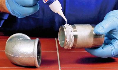 Чем обработать резьбовые соединения труб если нет фумки