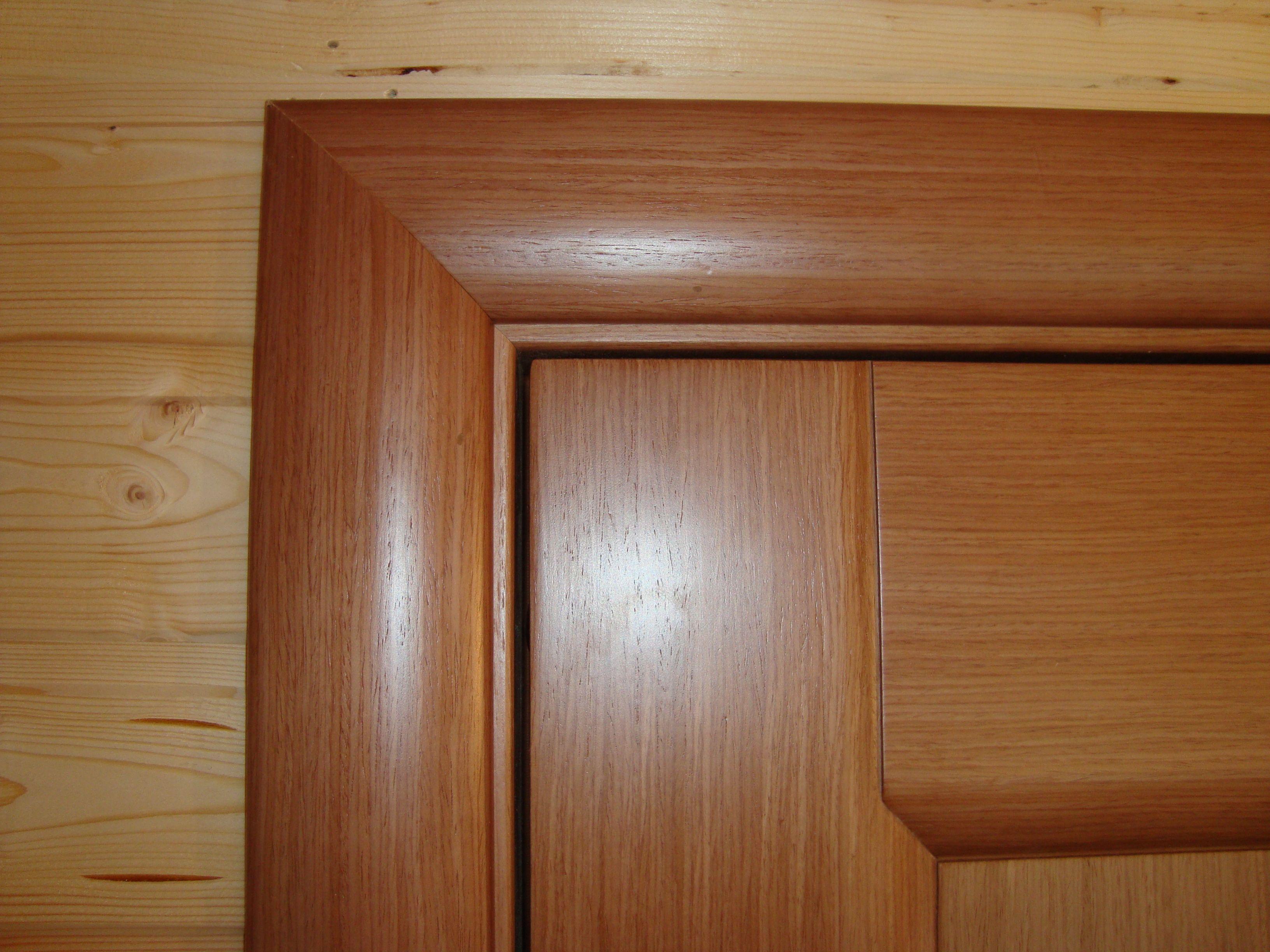 Как красиво зарезать дверные наличники