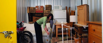 Где хранить мебель, пока идет ремонт