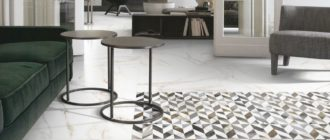 Оригинальные решения для интерьеров с керамической плиткой Vallelunga.