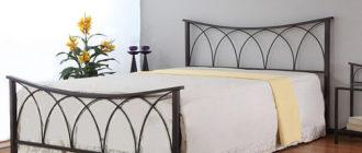 Виды и применение металлических кроватей