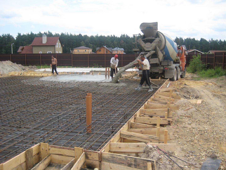 бетон для строительства домов