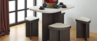 Разновидности обеденных столов для кухни