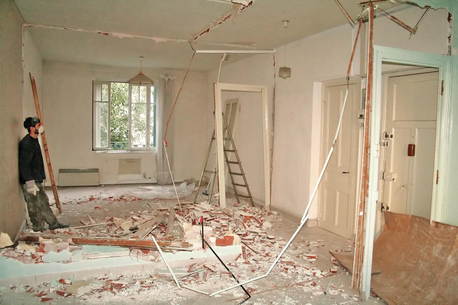 с чего начать ремонт в доме